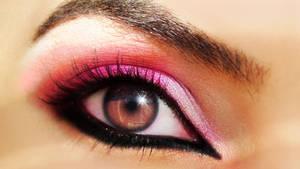 Hot Pink Arabic Look ( Bridal)