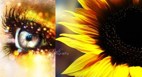 She was like a sunflower