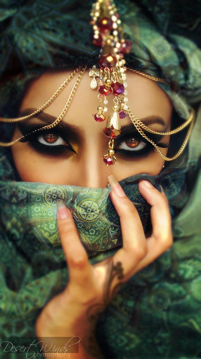 Fire In Her Eyes by Desert-Winds