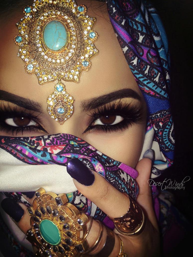 Арабский макияж онлайн видео