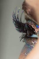 Glitter Crystals Eye Stock4 by Desert-Winds
