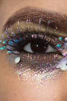 Glitter Crystals Eye Stock7 by Desert-Winds