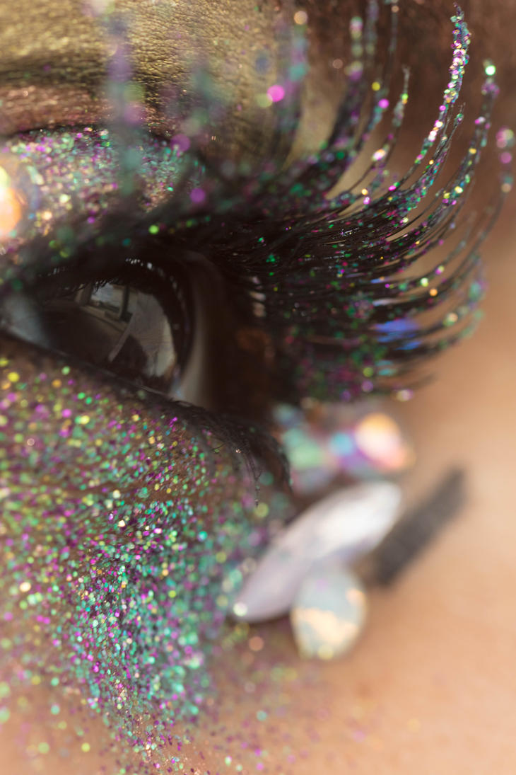 Glitter Crystals Eye Stock13 by Desert-Winds