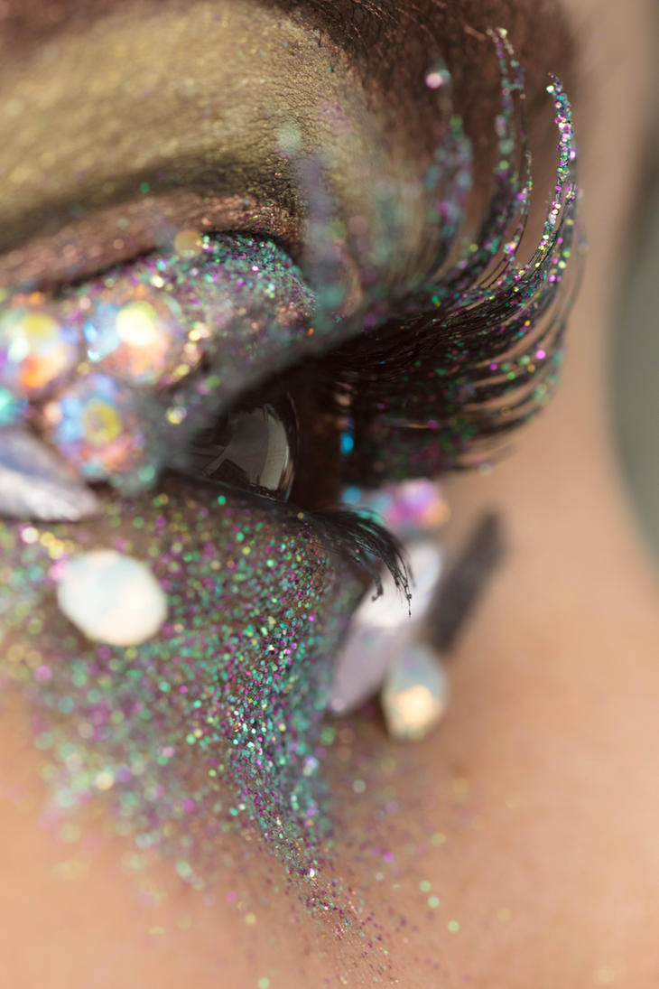 Glitter Crystals Eye Stock14 by Desert-Winds