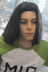 Android 17 cosplay