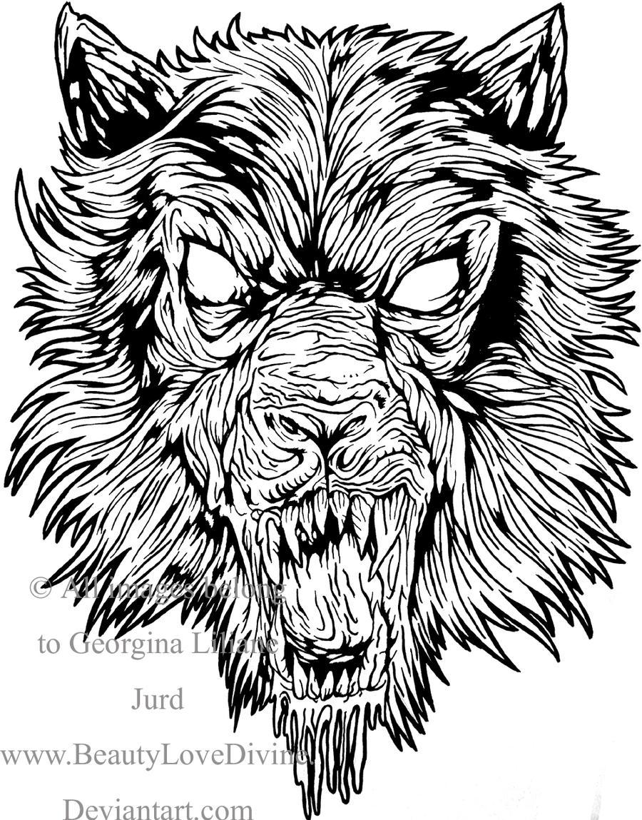 Design t shirt art -  Beautylovedivine Wolf Band T Shirt Design By Beautylovedivine