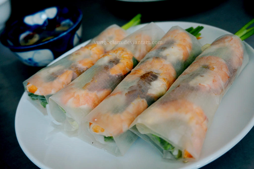 Goi cuon - Spring rolls - Vietnamese cuisine by vungoclam