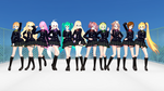 [MMD] TDA School girls + Links