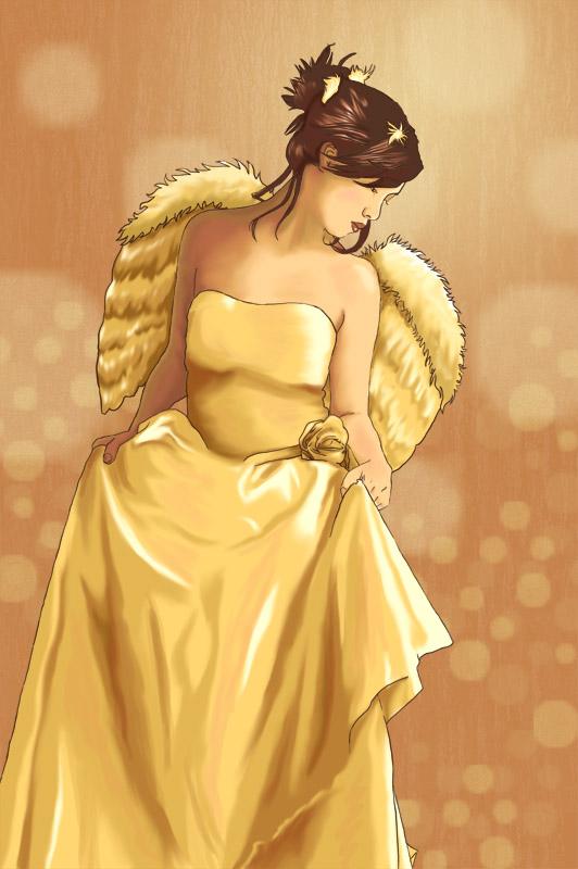 Angel by mizzyvon