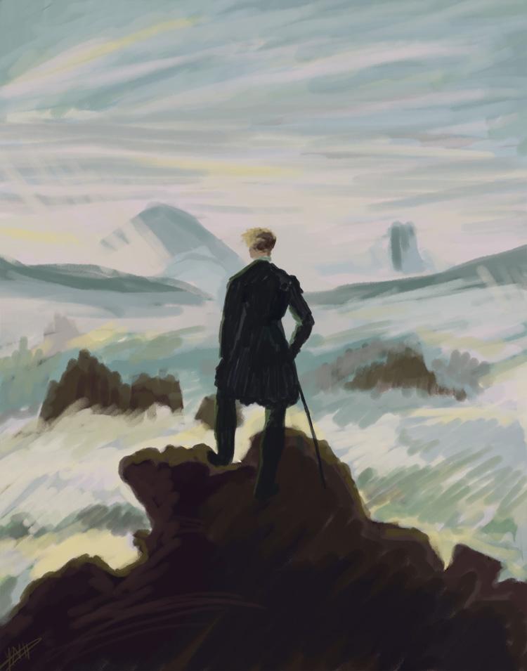wanderer above the sea of fog essay help