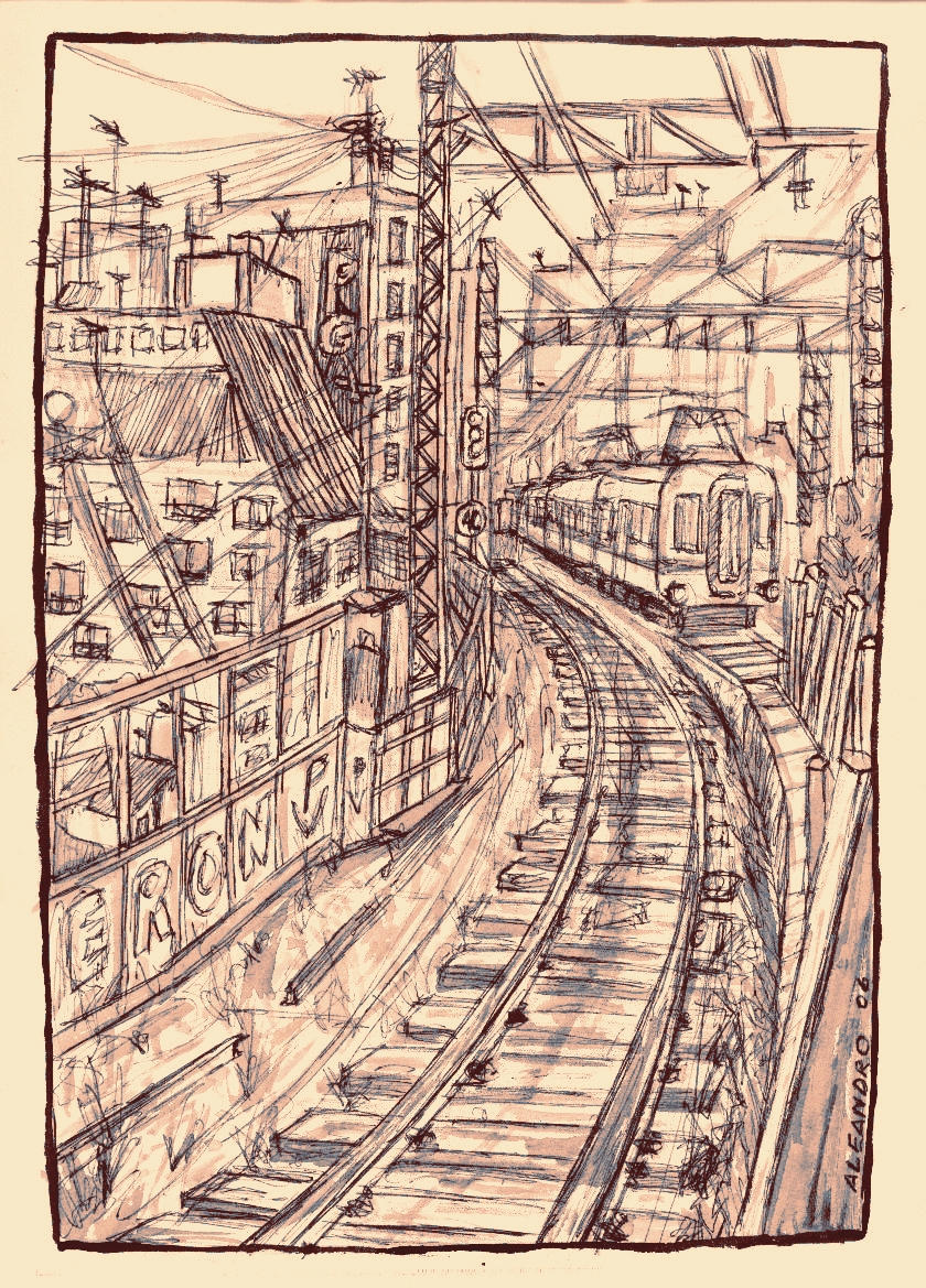 ferrocarril sarmiento by PabloAleandro