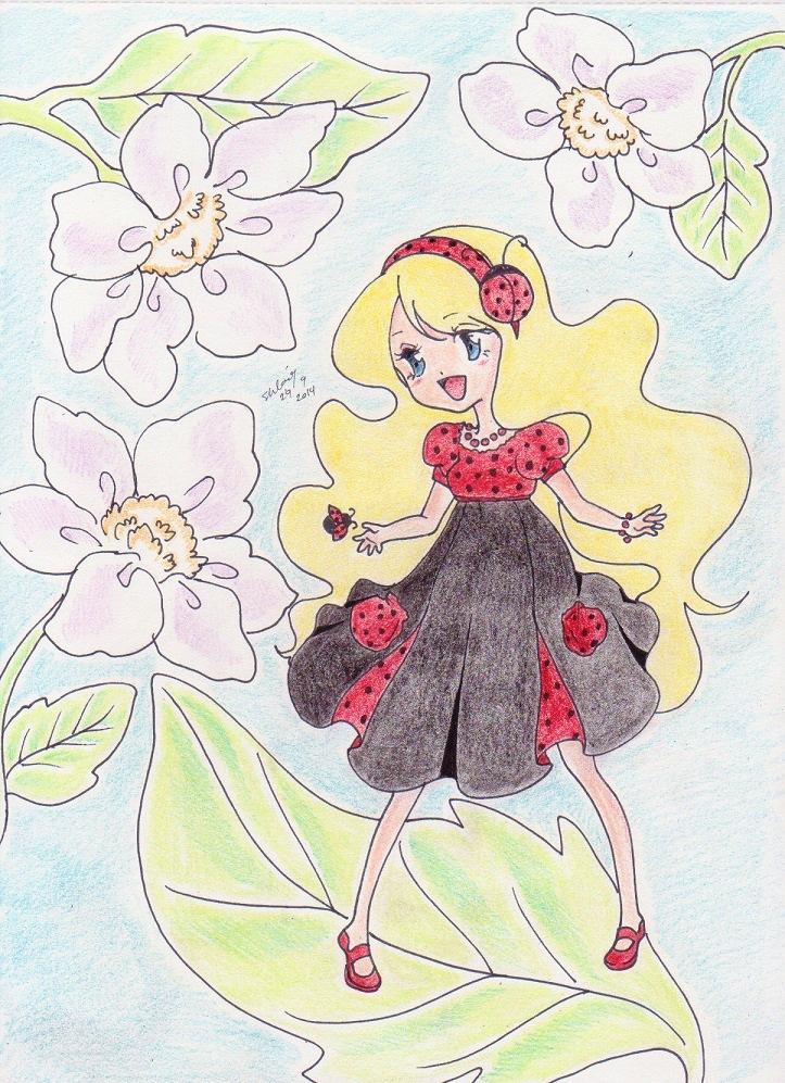 Fairy LadyBug by korean64