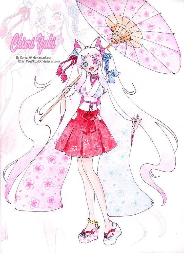 Chieri Yuki - request by korean64