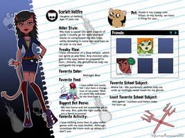 Monster High - Scarlett Hellfire by JunoRamser