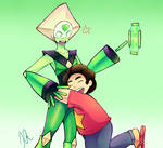 Peridot and Steven
