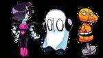 Undertale-  Ghost Cousins Pixel Art