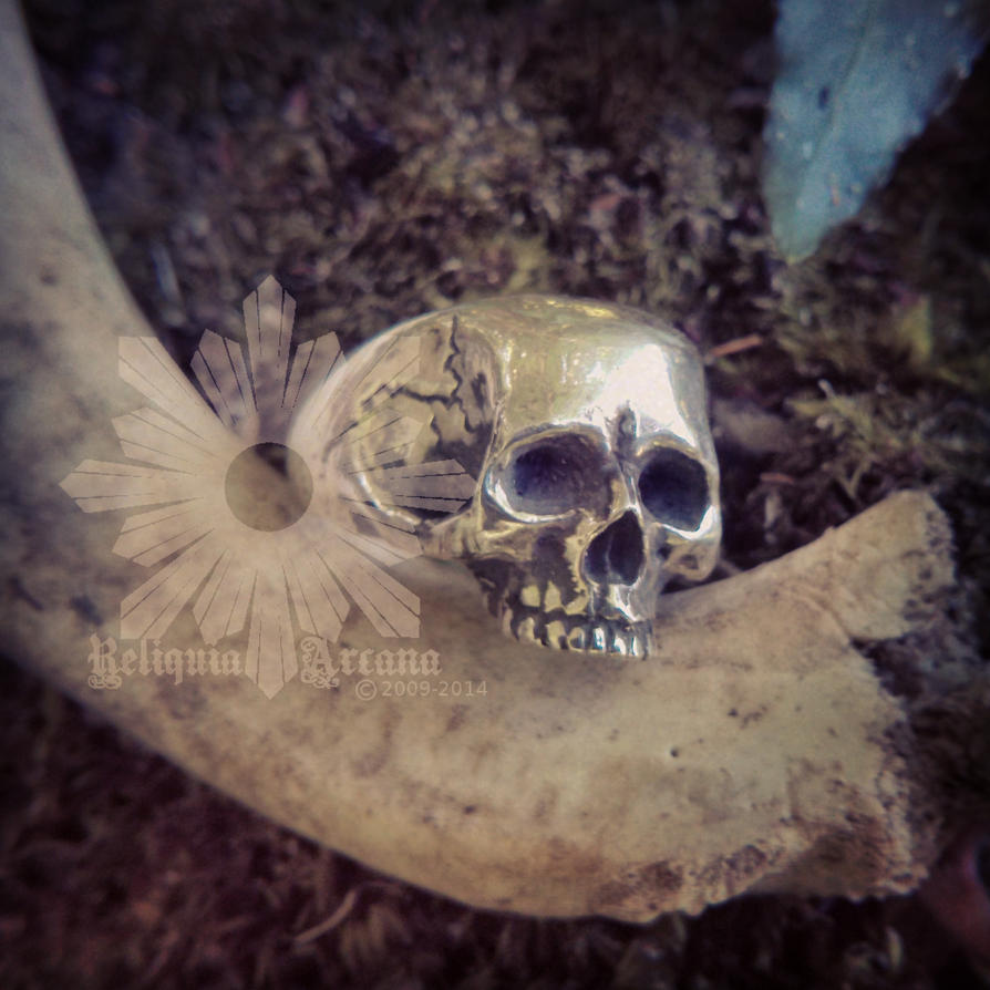 Miserere, skull ring by Reliquia Arcana by ReliquiaArcana