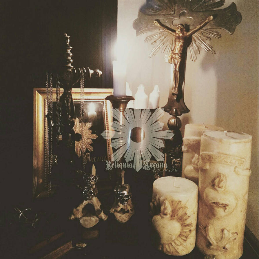 mourning candles by ReliquiaArcana