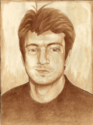 Nathan Fillion, in coffee by mirmzy