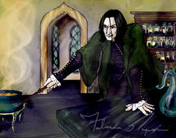 Sketch03: SNAPE, Snape, Snape by fafadibelo