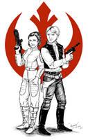 Fighting for the Rebel alliance by fafadibelo
