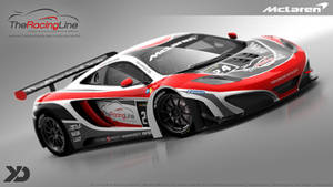 The Racing Line - McLaren MP4 12C GT3 - 2013 by Kinpixed