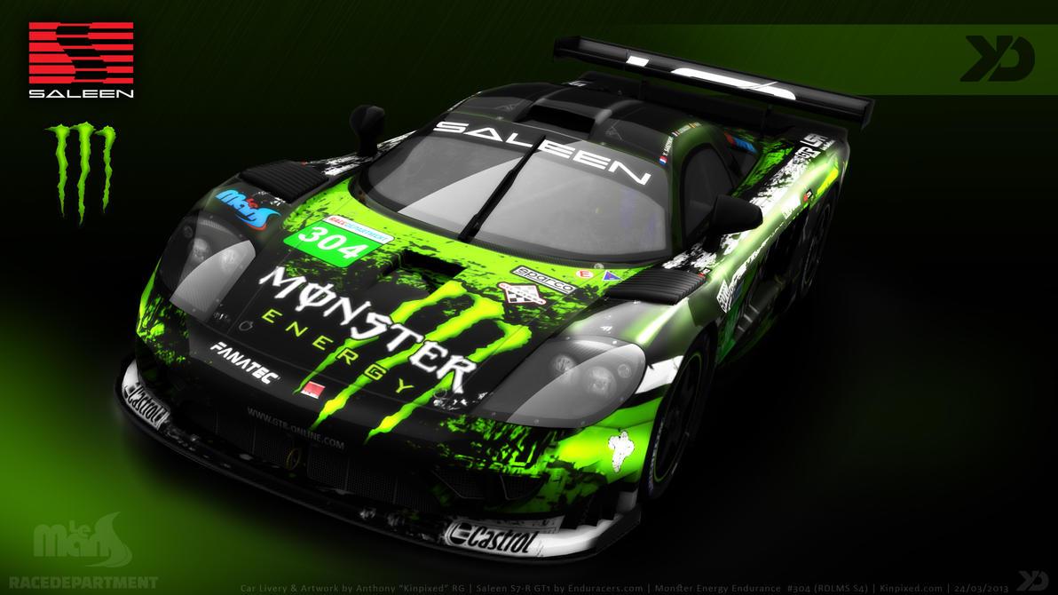 Monster Energy Endurance Saleen By Kinpixed On