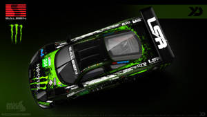 Monster Energy Endurance - Saleen S7R GT1 2013 by Kinpixed