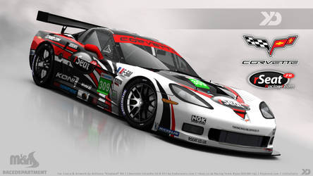 rSeat Racing Team - Corvette C6-R GT1 2013