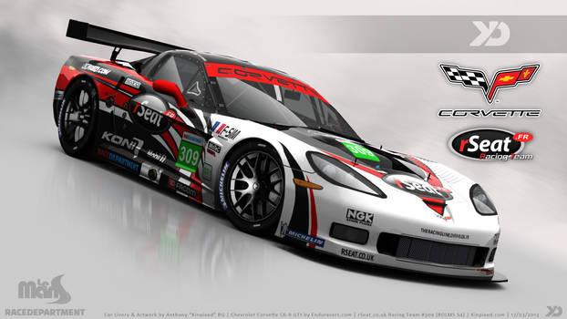 rSeat Racing Team - Corvette C6-R GT1 2013