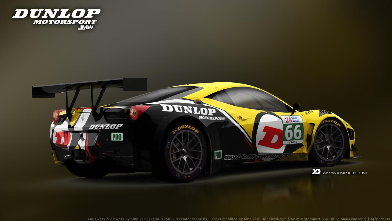 Jmw Motorsport Ferrari 458 Italia Gt3 Concept By