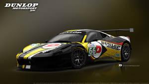 JMW Motorsport - Ferrari 458 Italia GT3 Concept