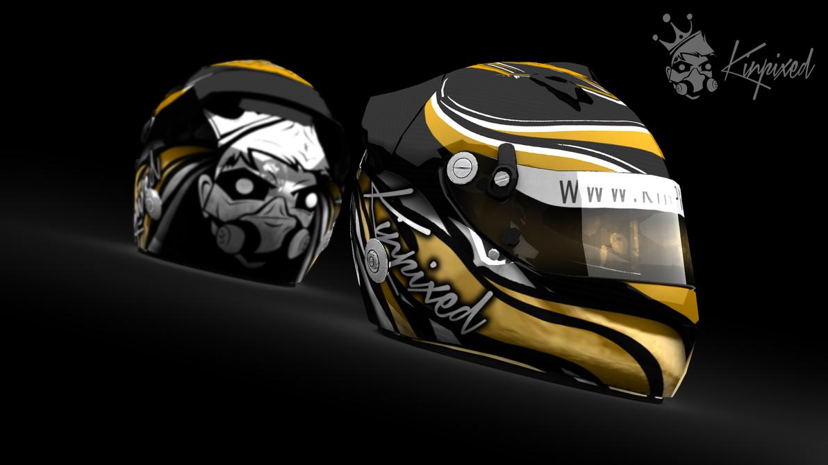 Kinpixed Helmet - 3D Render by Kinpixed