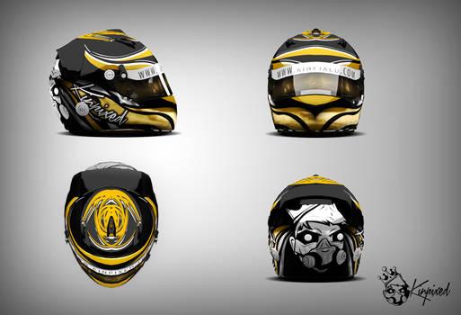Kinpixed Helmet - 3D Render
