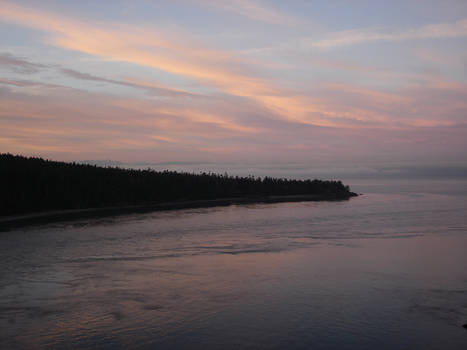 Sunrise Towards the Pacific