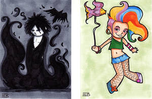 Sandman and Delirium