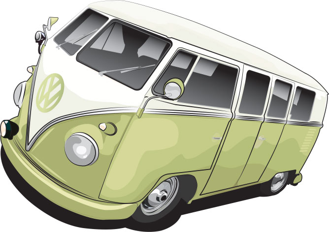 Volkswagen Camper Vector by be-efalo
