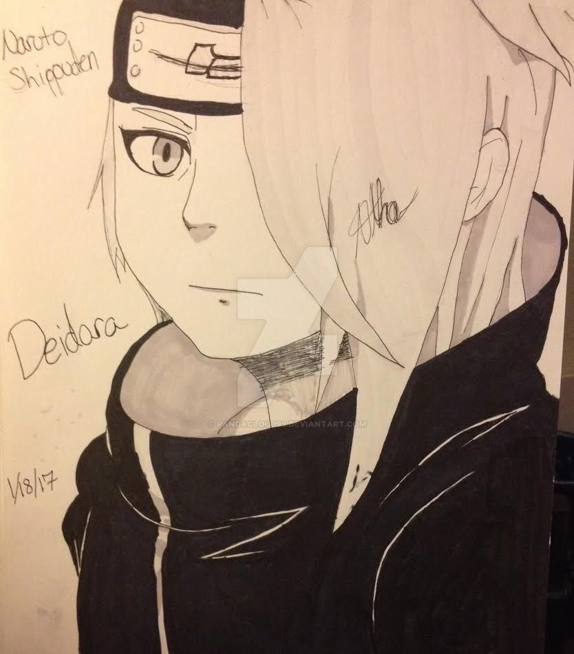 Deidara by Pandacloud99