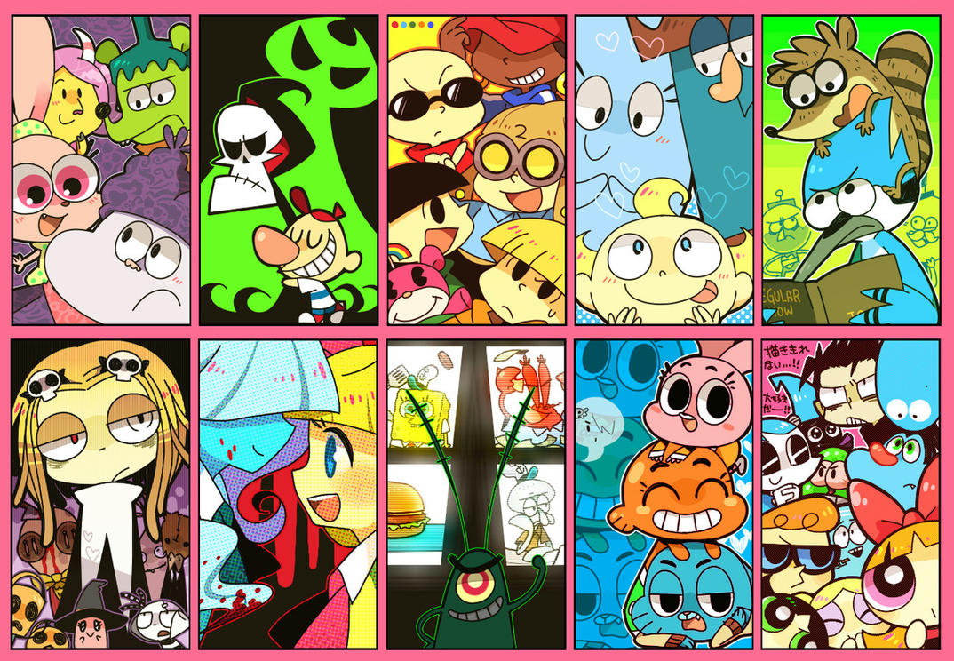 Cartoon Characters 2010 : My favorite cartoons by hakurinn on deviantart