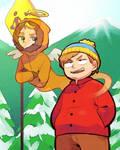 kenny's spirit in cartman