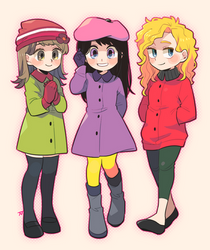 girls by hakurinn0215