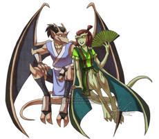 Avatar-Goyles : Sokka + Suki
