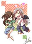 Daryl and Megumi