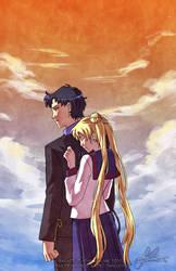 Seiya+Usagi: Regrets by YoukaiYume