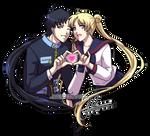 Seiya+Usagi: LOVE LOVE POWAH