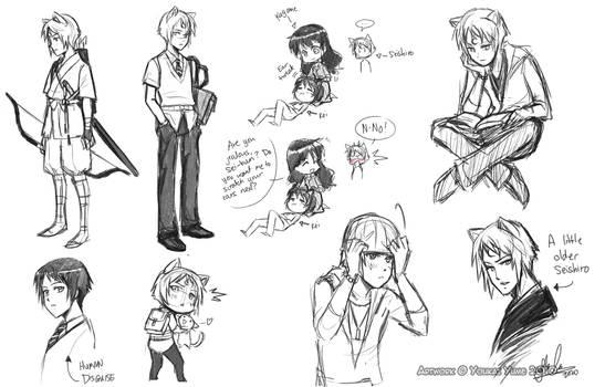 Seishiro Sketch Dump