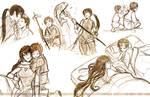 Moribito Sketches
