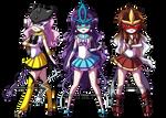 PKMN Senshi: Legendary Beasts by YoukaiYume
