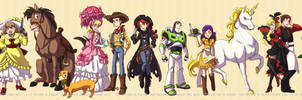 TS Outlaws: Line 'em Up