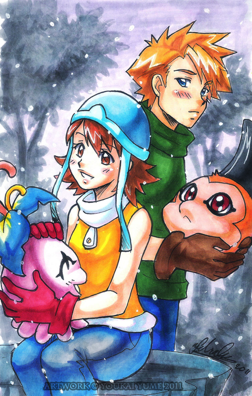 Digimon: Just a Crush by YoukaiYume